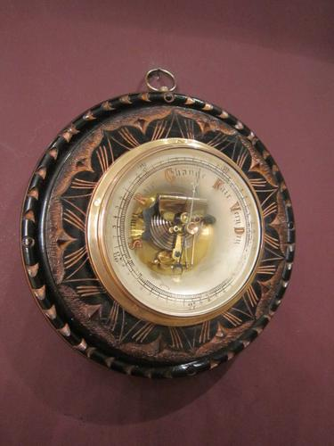 Superb Victorian Gilt Decorative Skeletonised Barometer (1 of 6)
