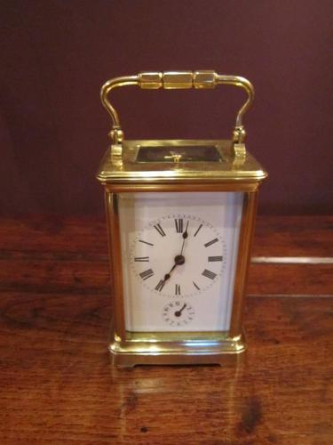 High Quality 19th Century Strking Carriage Clock (1 of 1)