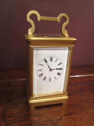 Superior 19th Century Gilded Striking Carriage Clock (1 of 1)