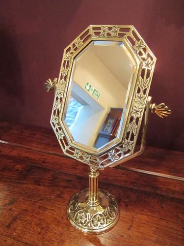 Top Quality Victorian Dressing Table Top Mirror (1 of 1)