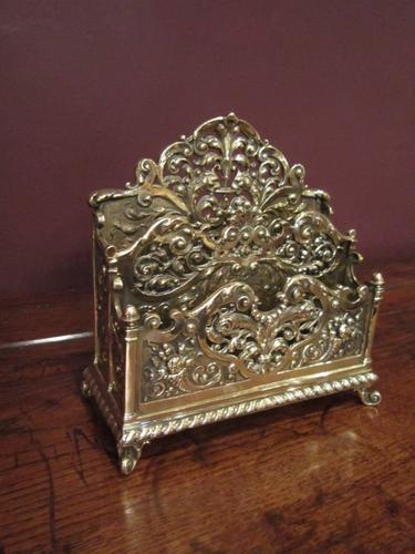 Top Quality Decorative Victorian Letter Rack (1 of 1)