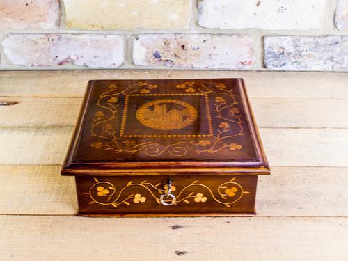 Irish Killarney Table Box c.1870 (1 of 1)