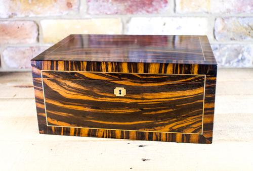 Top Quality Sewing Box c.1850 (1 of 1)