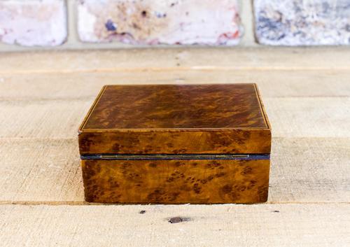 Austrian Amboyna Box c.1920 (1 of 1)