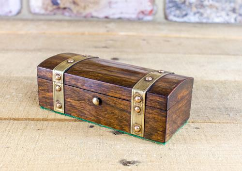 Rosewood Desk Box c.1840 (1 of 1)