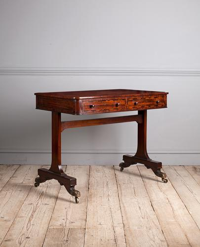 Regency Mahogany Writing Table (1 of 9)