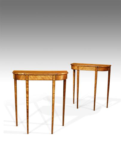 Pair of Antique Console Tables c.1910 (1 of 1)