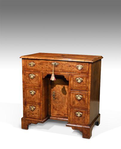 Walnut Kneehole Desk (1 of 1)