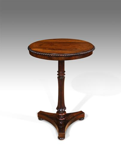 William IV Rosewood Lamp Table (1 of 1)
