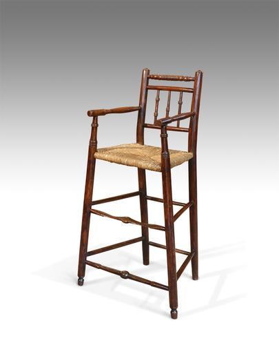 Childs Antique High Chair c.1850 (1 of 1)