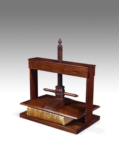 Antique Book Press c.1850 (1 of 1)