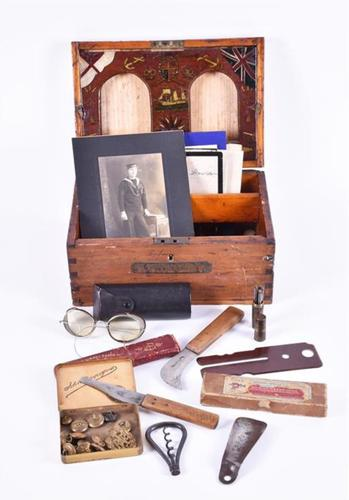 WW1 Period Naval Ditty Box R Donaldson (1 of 1)