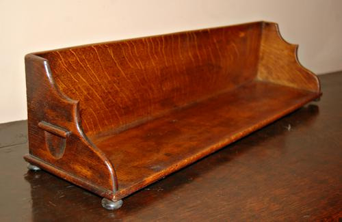 Mid 19th Century Oak Book Trough (1 of 1)