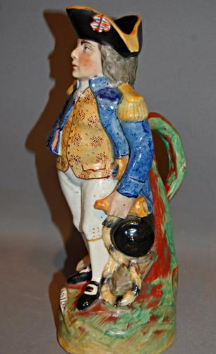19th Century Staffordshire Model of Nelson (1 of 1)