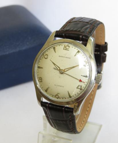 Gents 1950s Garrard Automatic Wrist Watch (1 of 5)