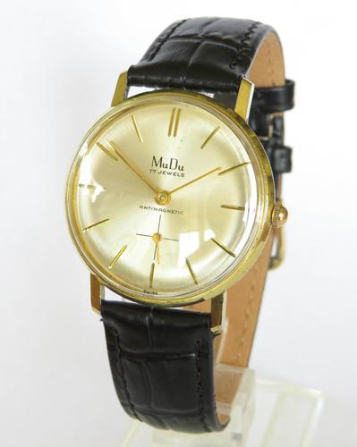 Gents 1960s Mudu Wrist Watch (1 of 4)