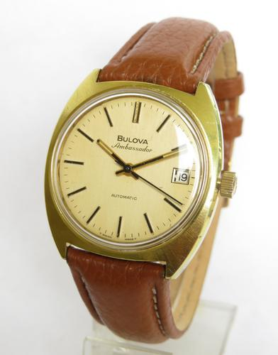 Gents 1973 Bulova Ambassador Wrist Watch (1 of 5)