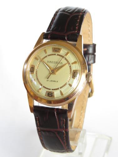 1950s Mid-Size Madorina Wrist Watch (1 of 4)