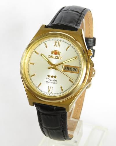 Gents Orient Crystal Automatic Wrist Watch (1 of 4)