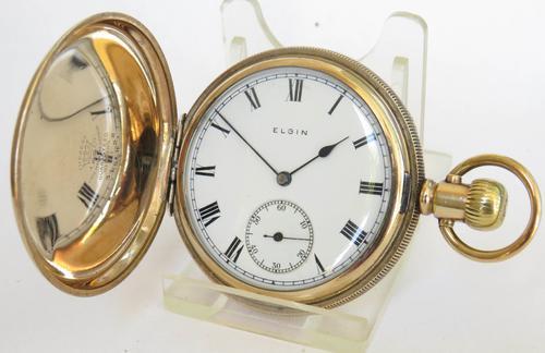 1921 Elgin Full Hunter Pocket Watch (1 of 5)