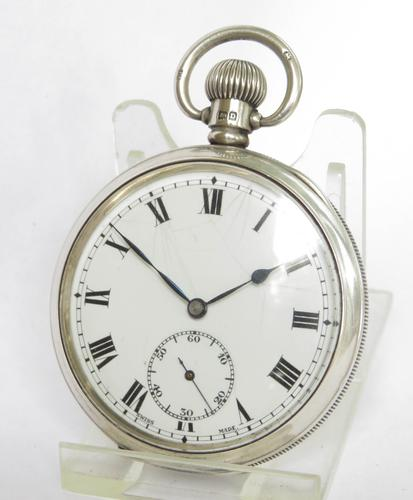 Silver Pocket Watch, 1928 (1 of 5)