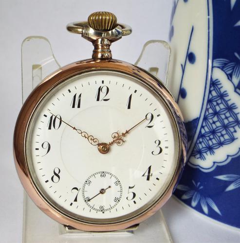 Antique Galonne Cased Pocket Watch c.1910 (1 of 5)