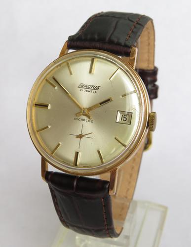 Gents 1960s Exactus Wristwatch (1 of 5)