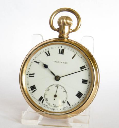 1930s Craftsman Pocket Watch (1 of 4)