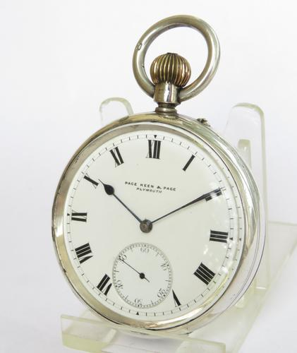 Antique Silver Rotherhams Pocket Watch (1 of 5)