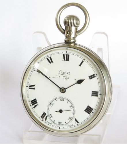 Antique Silver Limit Pocket Watch, 1908 (1 of 5)