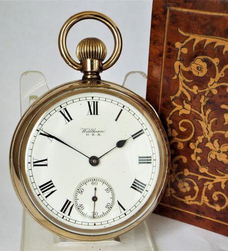 Antique 1919 Waltham Pocket Watch (1 of 5)