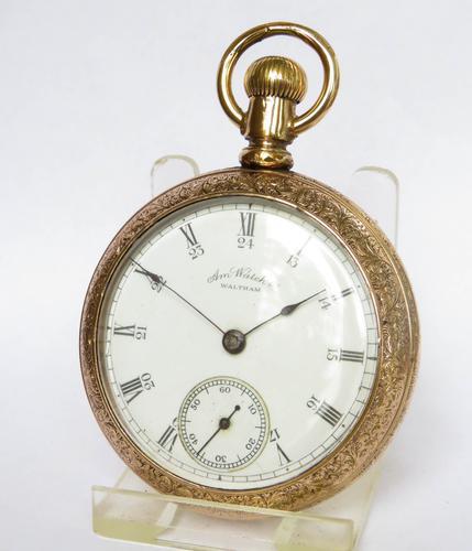 Antique Waltham Pocket Watch, 1891 (1 of 4)
