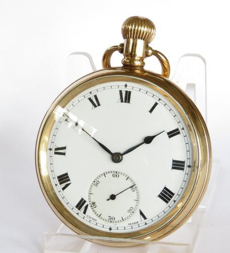 1930s Admiral Pocket Watch by Tavannes (1 of 5)