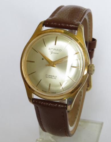 Gents 1950s Strad Wrist Watch (1 of 5)