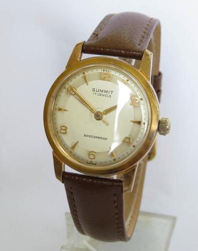 1950s Mid-Size Summit Wrist Watch (1 of 5)