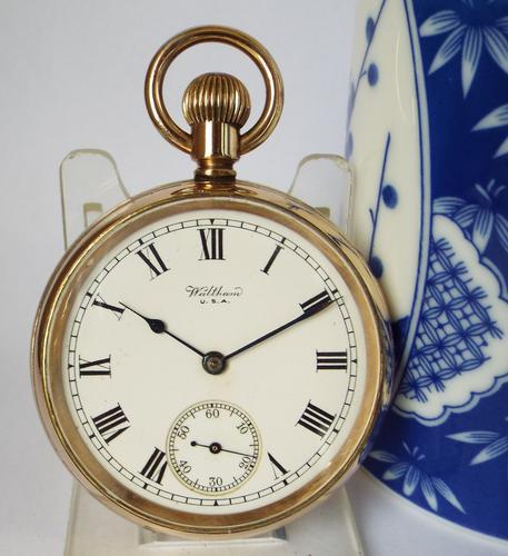 Antique 1920 Waltham Pocket Watch (1 of 5)