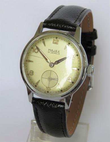 Gents 1950s Majex Wrist Watch (1 of 5)