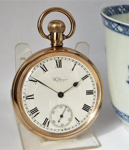 Antique 1908 Waltham Pocket Watch (1 of 5)
