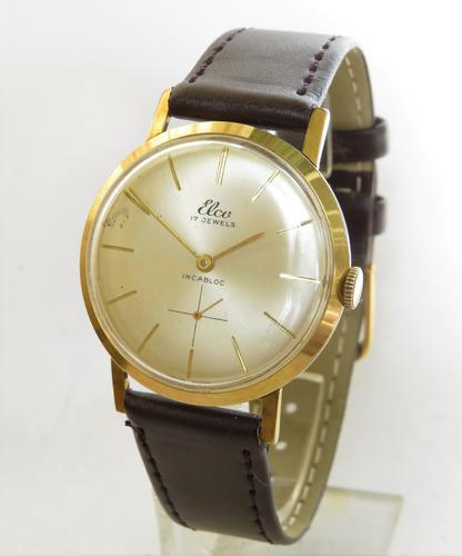 Gents 1960s Elco Wrist Watch (1 of 4)