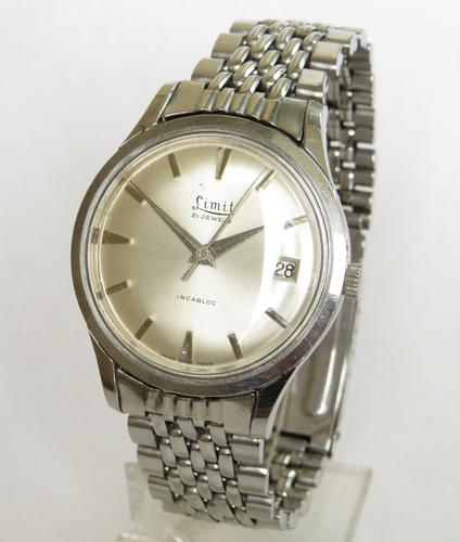 Gents 1950s Limit Wrist Watch (1 of 5)