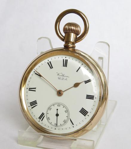 Antique Waltham Bond Street Pocket Watch, 1904 (1 of 4)