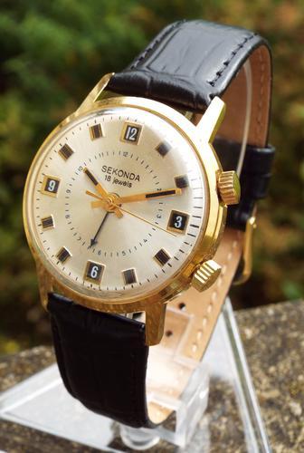 Gents 1970s Sekonda 'Cricket' Alarm Watch (1 of 1)