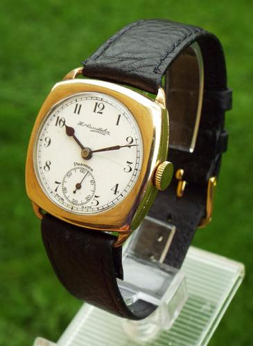Gents 1930s Thomas Russell Premier Wrist Watch (1 of 1)