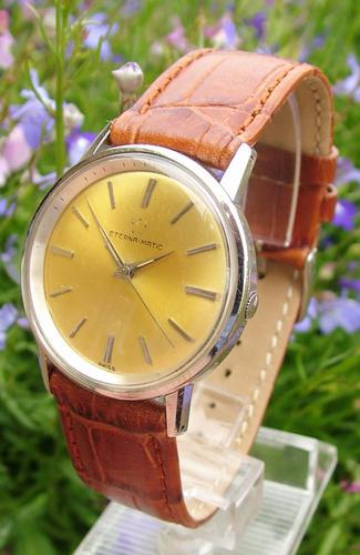 Gents 1963 Eterna-Matic Wrist Watch (1 of 1)