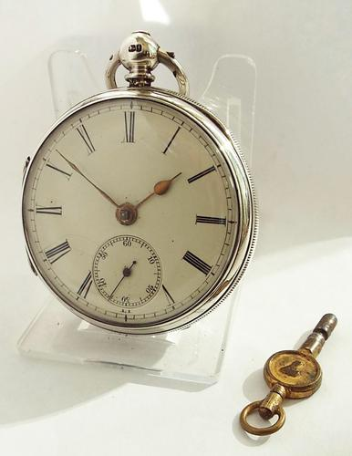 Antique Fusee Silver Pocket Watch by Joseph Ball Liverpool (1 of 1)