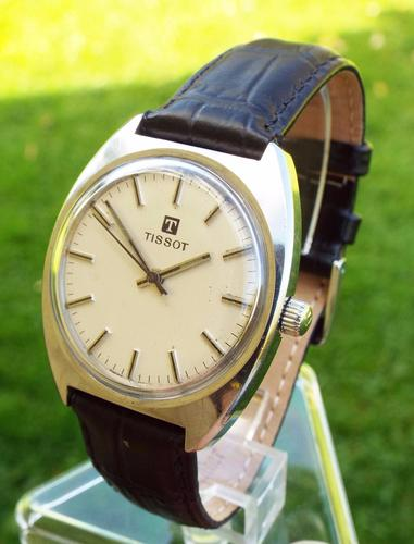 Gents Stainless Steel Tissot Wristwatch, 1972 (1 of 1)