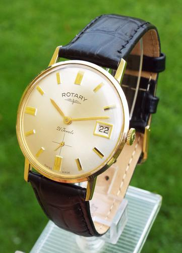 Gents Rotary Wrist Watch in Super Condition c.1960 (1 of 1)