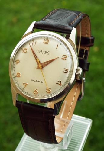 Gents 1950s Lanco Wrist Watch by Langendorf (1 of 1)