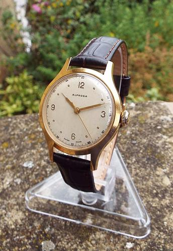 Gents 1950s Alprosa by Enicar Wrist Watch (1 of 1)