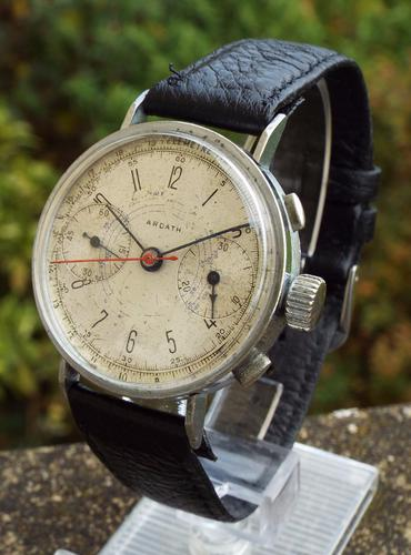 Gents 1940s Ardath Pilot's Chronograph (1 of 1)